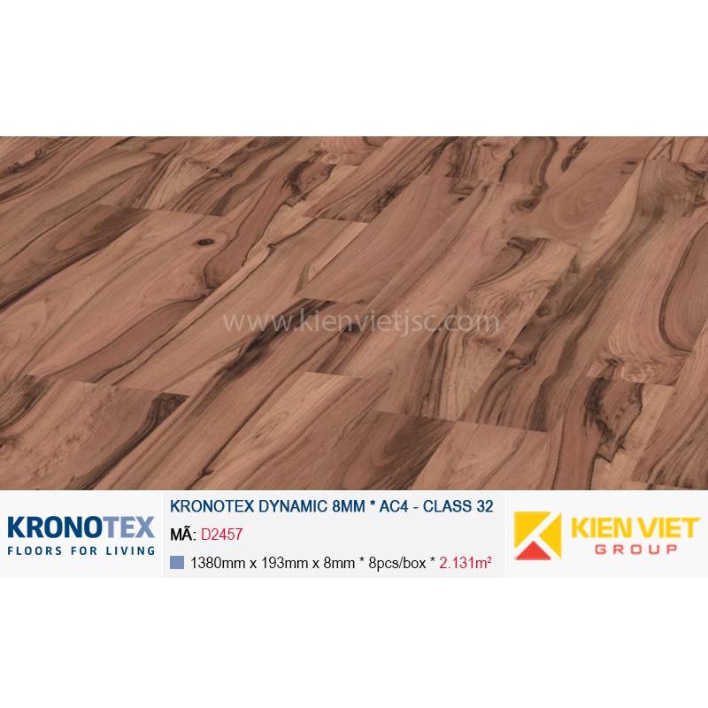 Sàn gỗ Kronotex Dynamic D2457 Nut Tree   8mm