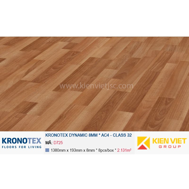 Sàn gỗ Kronotex Dynamic D725 Noce Country | 8mm