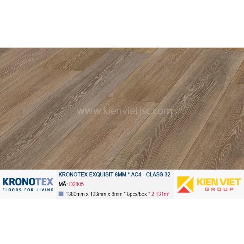 Sàn gỗ Kronotex Exquisit D2805 Stirling Oak Medium | 8mm