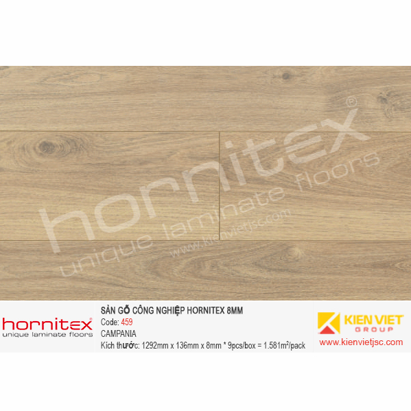 Sàn gỗ Hornitex 459 CAMPANIA   8mm