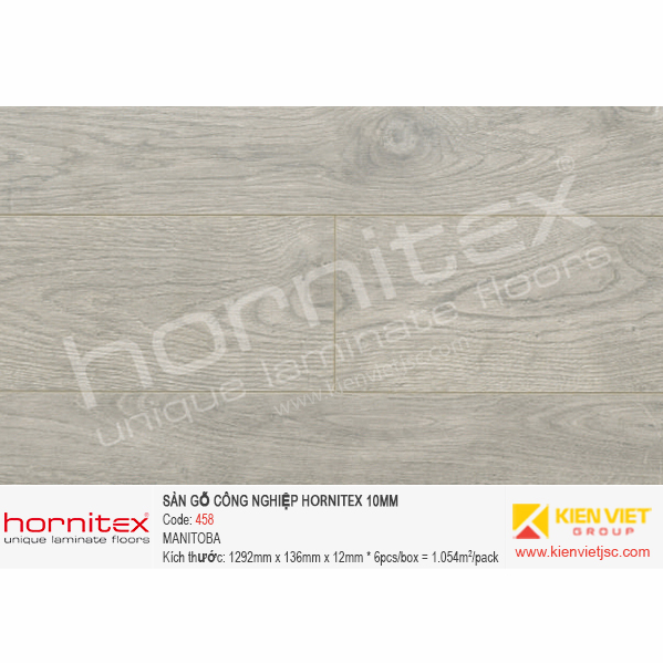 Sàn gỗ Hornitex 458 MANITOBA   12mm