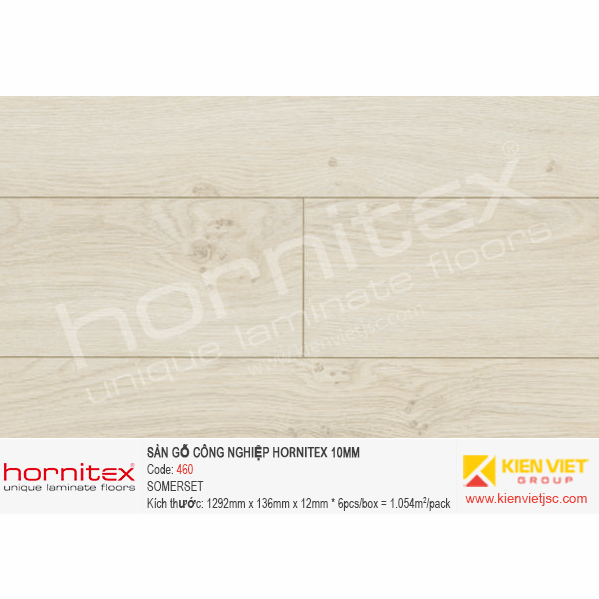 Sàn gỗ Hornitex 460 SOMERSET | 12mm