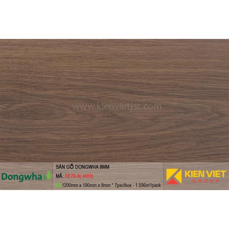 Sàn gỗ Dongwha RE7B-8 (4659) | 8mm