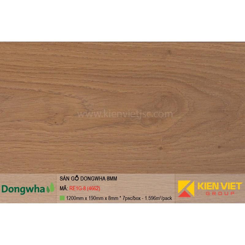 Sàn gỗ Dongwha RE1G-8 (4662) | 8mm