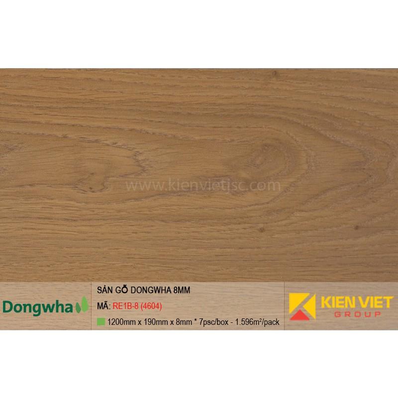 Sàn gỗ Dongwha RE1B-8 (4604) | 8mm