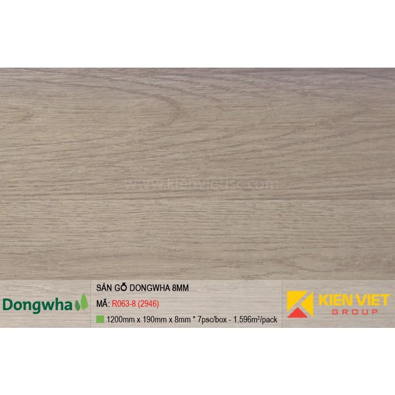 Sàn gỗ Dongwha R063-8 (2946) | 8mm
