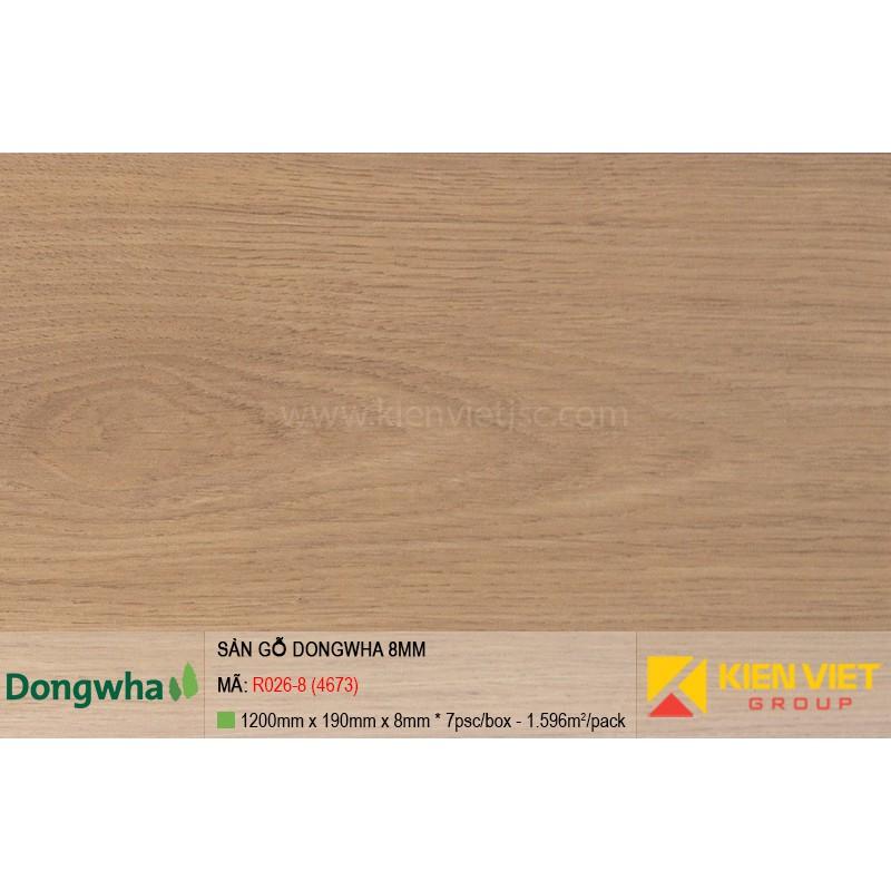 Sàn gỗ Dongwha R026-8 (4673) | 8mm