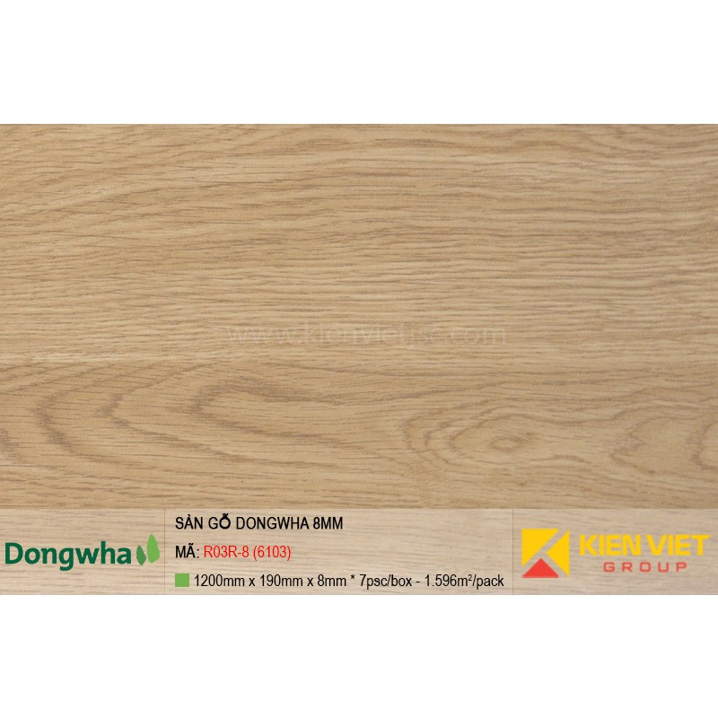 Sàn gỗ Dongwha R03R-8 (6103) | 8mm