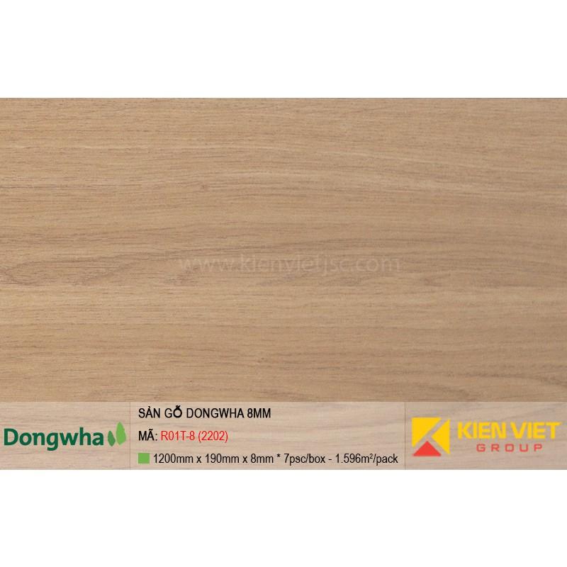 Sàn gỗ Dongwha R01T-8 (2202) | 8mm