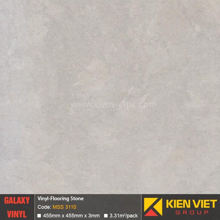 Sàn nhựa dán keo Galaxy vân đá MSS 3110 | 3mm