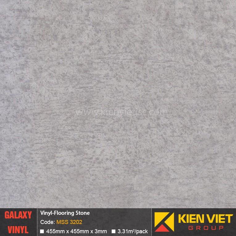 Sàn nhựa dán keo Galaxy vân đá MSS 3202 | 3mm