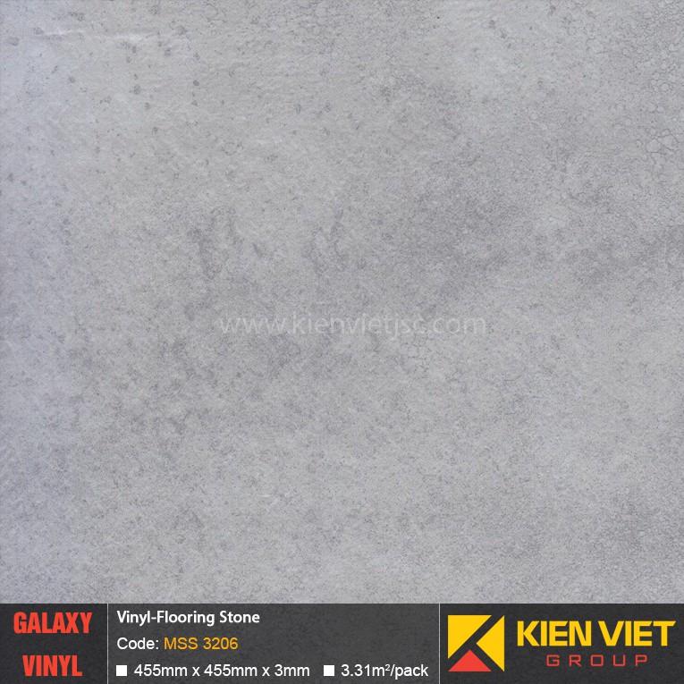 Sàn nhựa dán keo Galaxy vân đá MSS 3206 | 3mm