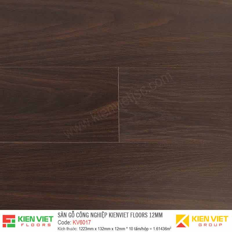Sàn gỗ Kienviet Floor KV6017 - 12mm
