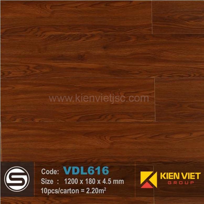 Sàn nhựa hèm khóa Smartwood VDL616 | 4.5mm