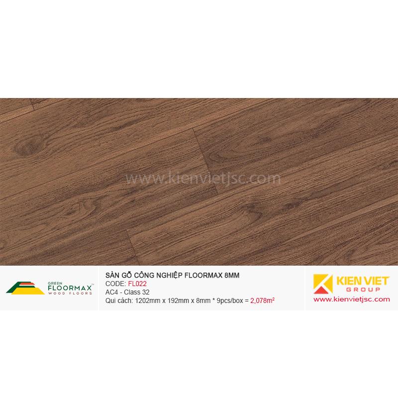 Sàn gỗ Floormax FL022 | 8mm