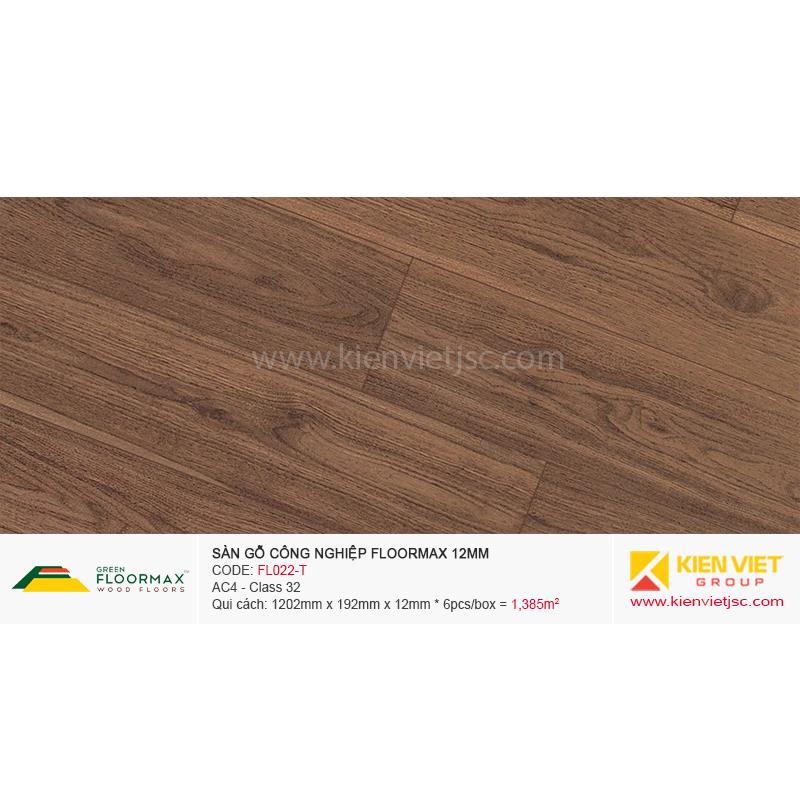Sàn gỗ Floormax FL022-T | 12mm