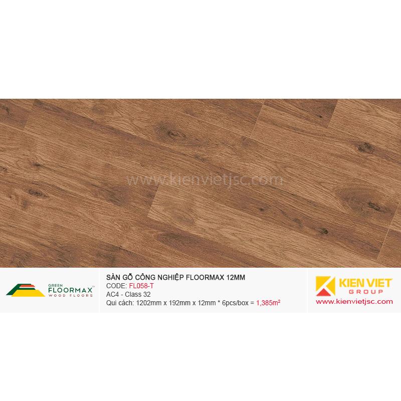 Sàn gỗ Floormax FL058-T | 12mm