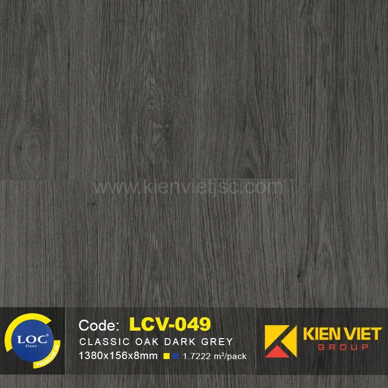 Sàn gỗ Bỉ LOC LCV049   8mm