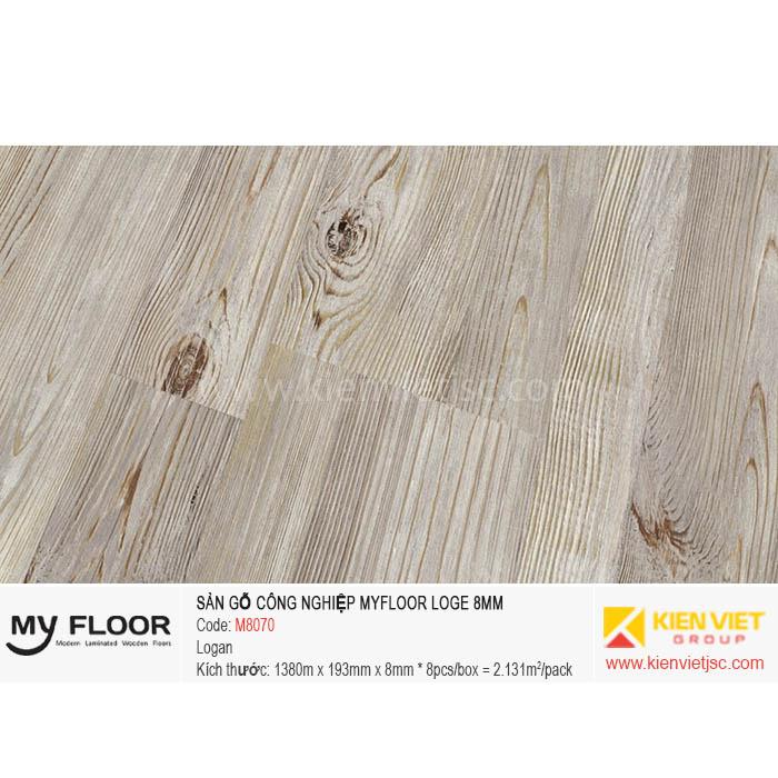 Sàn Gỗ MyFloor Loge M8070 Logan | 8mm