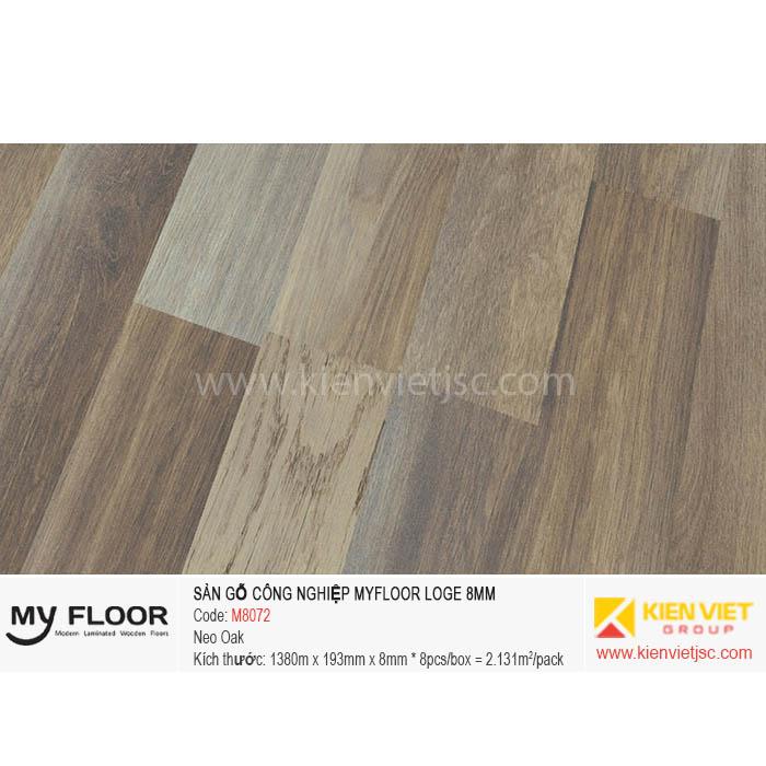 Sàn Gỗ MyFloor Loge M8072 Neo Oak | 8mm