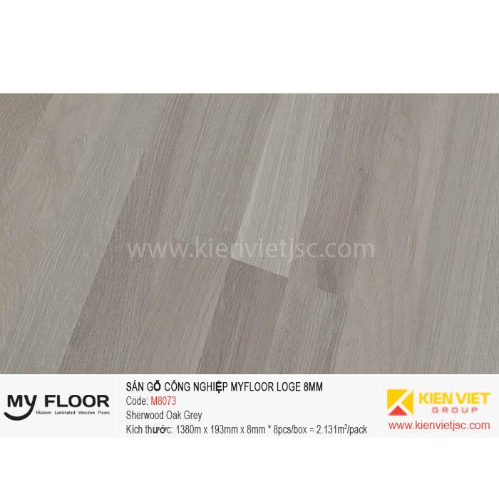 Sàn Gỗ MyFloor Loge M8073 Sherwood Oak Grey | 8mm