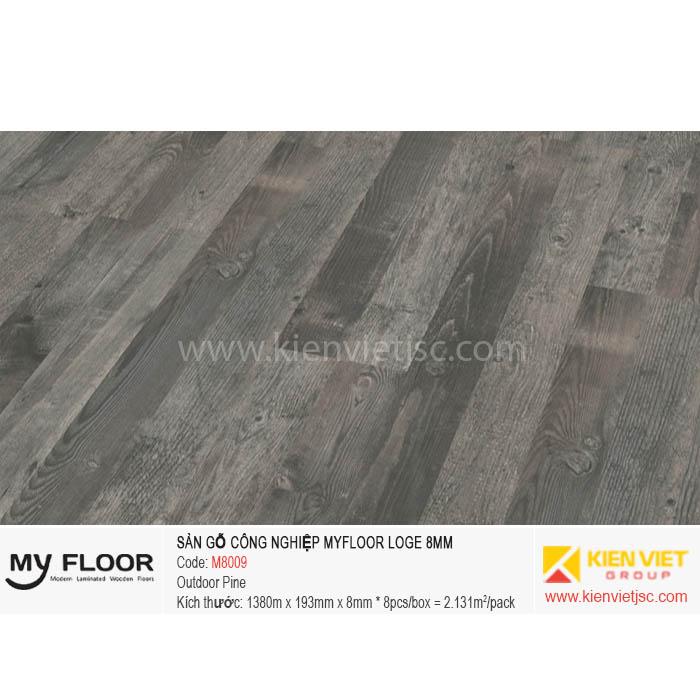 Sàn Gỗ MyFloor Loge M8009 Outdoor Pine | 8mm