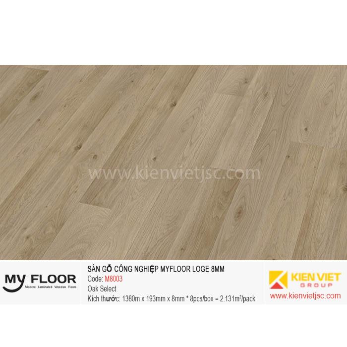 Sàn Gỗ MyFloor Loge M8003 Oak Select | 8mm