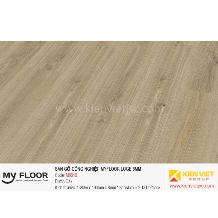 Sàn Gỗ MyFloor Loge M8016 Dutch Oak | 8mm