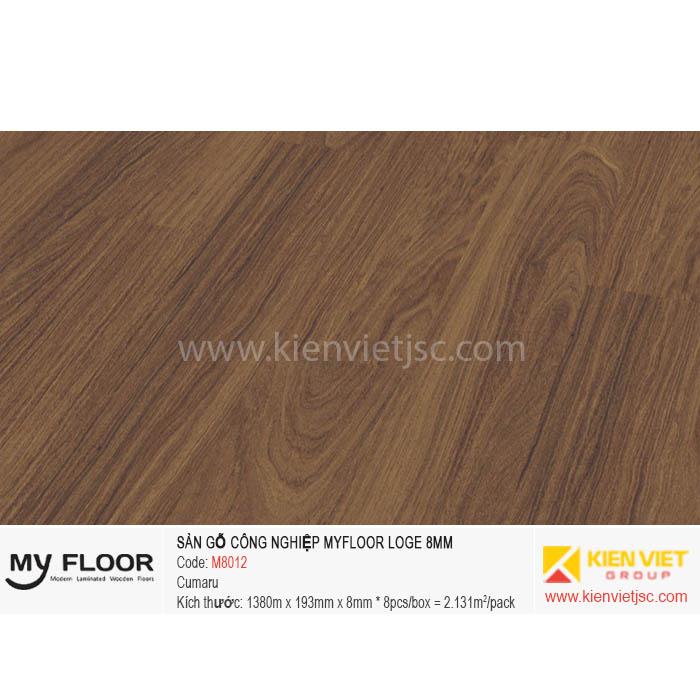 Sàn Gỗ MyFloor Loge M8012 Cumaru | 8mm