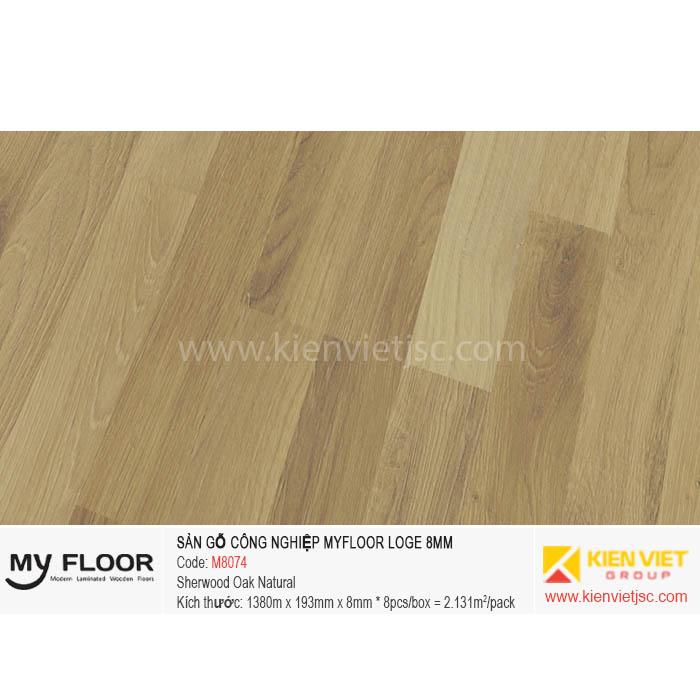 Sàn Gỗ MyFloor Loge M8074 Sherwood Oak Natural | 8mm