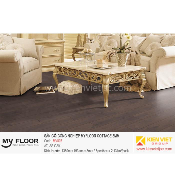 Sàn gỗ MyFloor Cottage MV807 Atlas Oak | 8mm