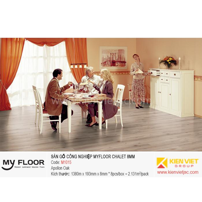 Sàn gỗ MyFloor Chalet M1015 Apollon Oak | 8mm