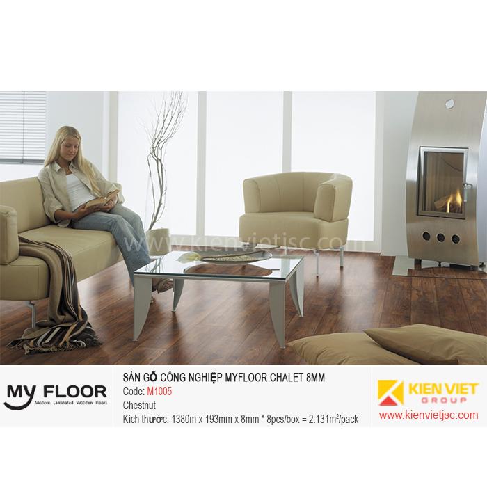 Sàn gỗ MyFloor Chalet M1005 Chestnut | 8mm