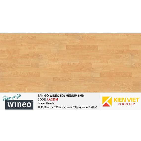 Sàn gỗ Wineo 500 Medium - LA025M | Ocean Beech 8mm
