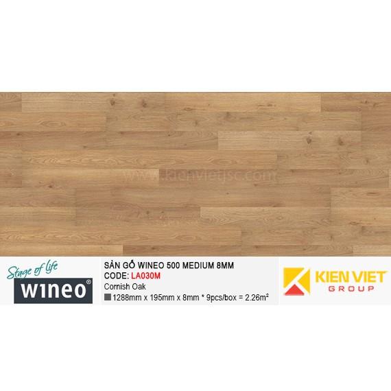 Sàn gỗ Wineo 500 Medium - LA030M | Cornish Oak 8mm