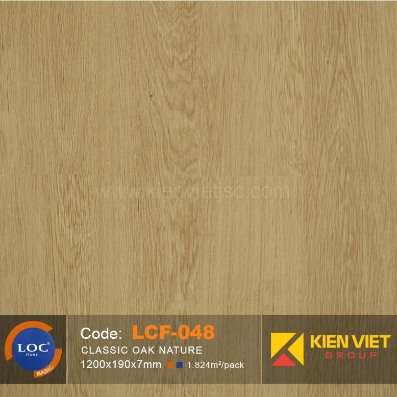 Sàn gỗ Bỉ Loc LCF048   7mm