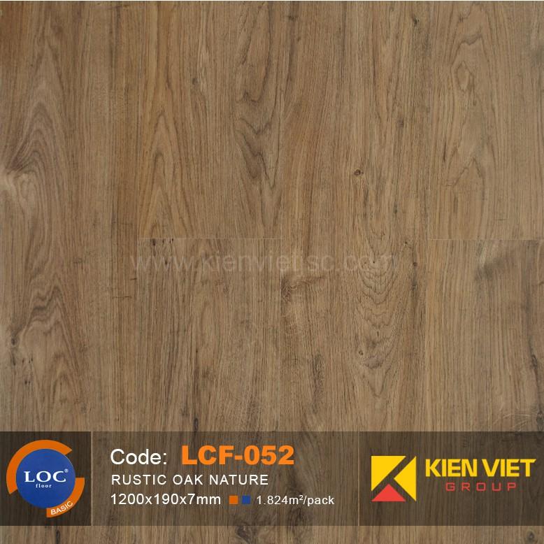 Sàn gỗ Bỉ Loc LCF052 | 7mm