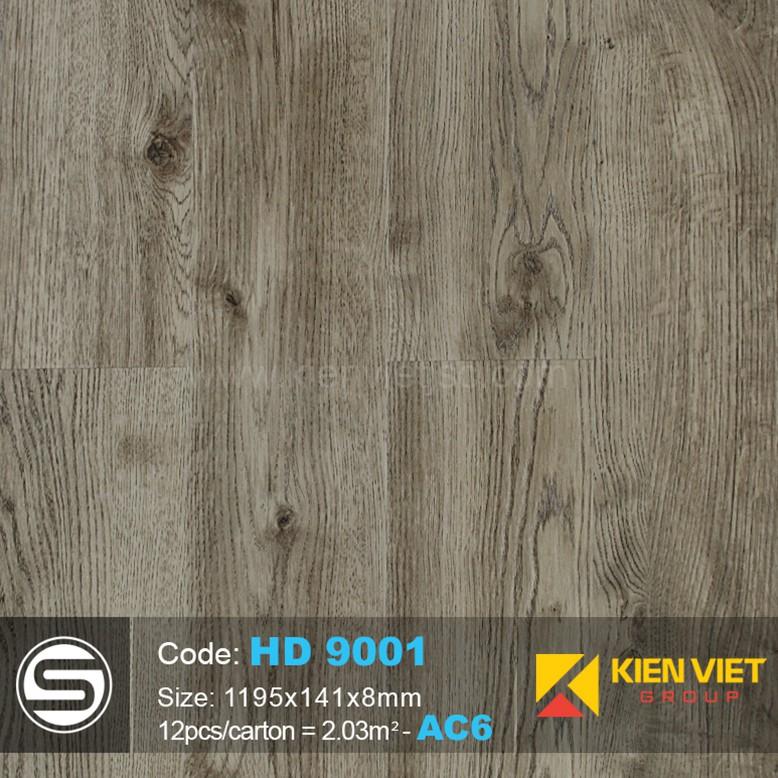 Sàn nhựa hèm khóa Smartwood HD9001 | 8mm
