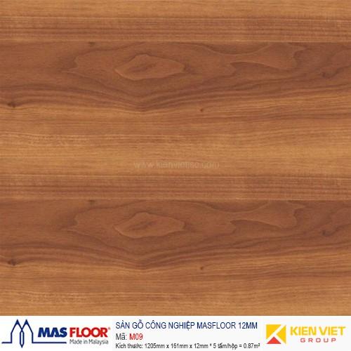 Sàn gỗ MASFLOOR M09   12mm