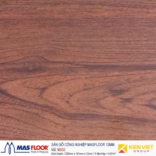 Sàn gỗ MASFLOOR M202   12mm