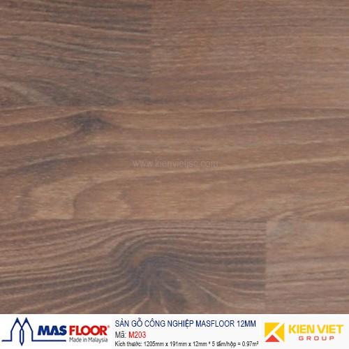 Sàn gỗ MASFLOOR M203   12mm