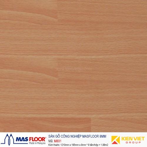 Sàn gỗ MASFLOOR M801 | 8mm