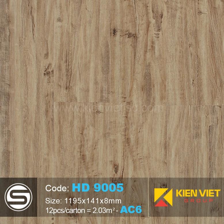 Sàn nhựa hèm khóa Smartwood HD9005 | 8mm