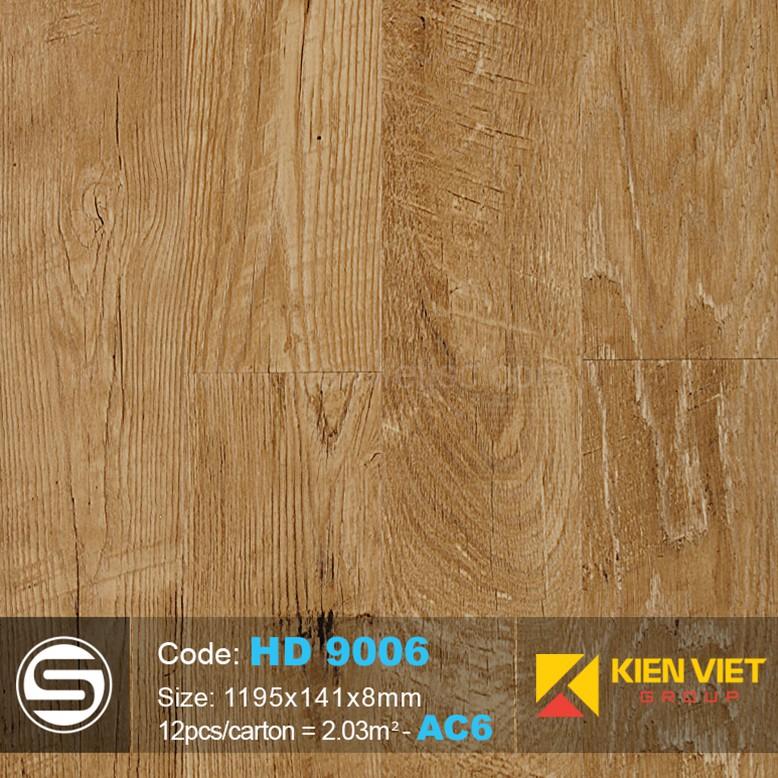 Sàn nhựa hèm khóa Smartwood HD9006 | 8mm