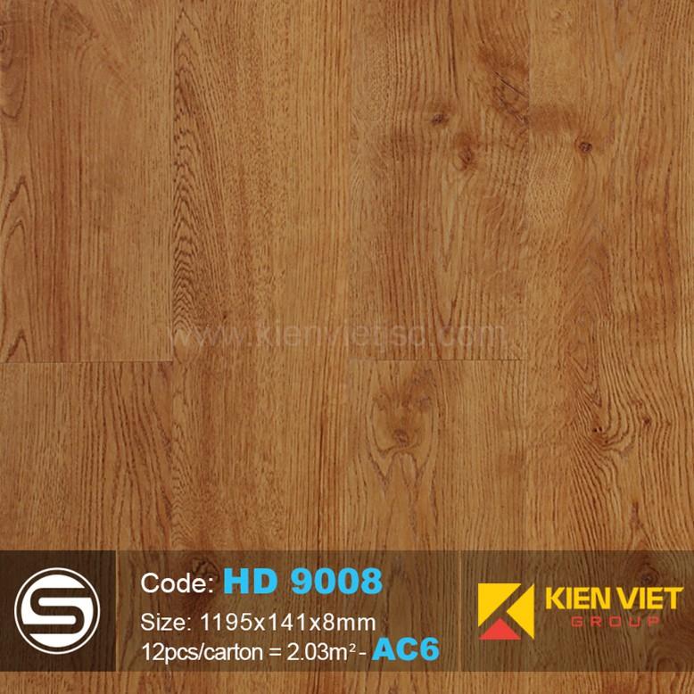 Sàn nhựa hèm khóa Smartwood HD9008 | 8mm