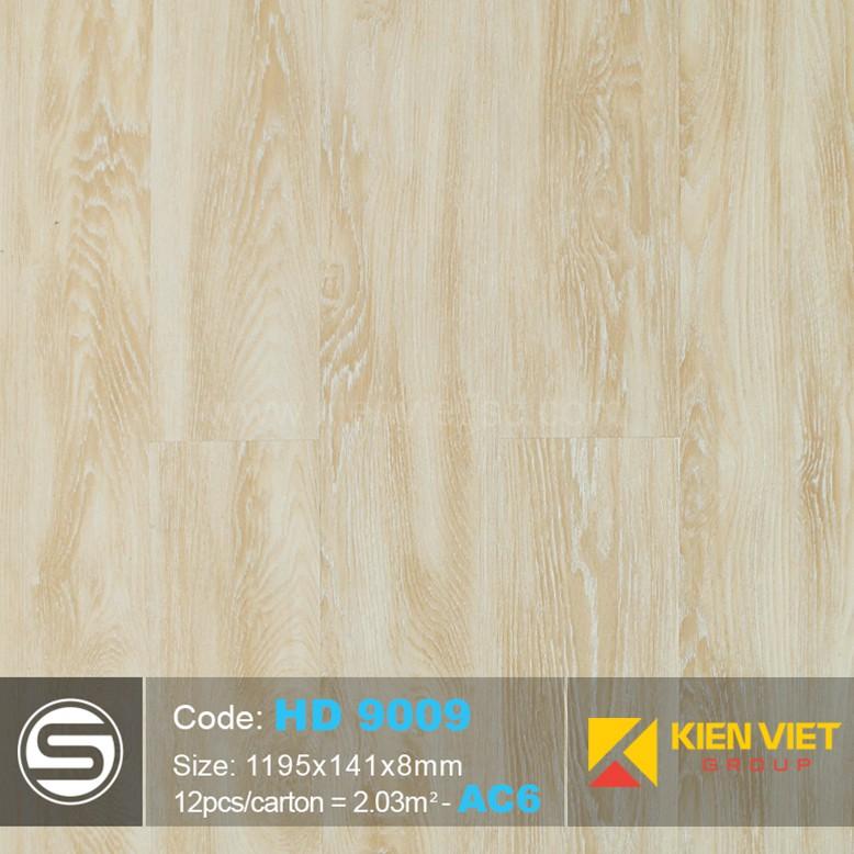Sàn nhựa hèm khóa Smartwood HD9009 | 8mm