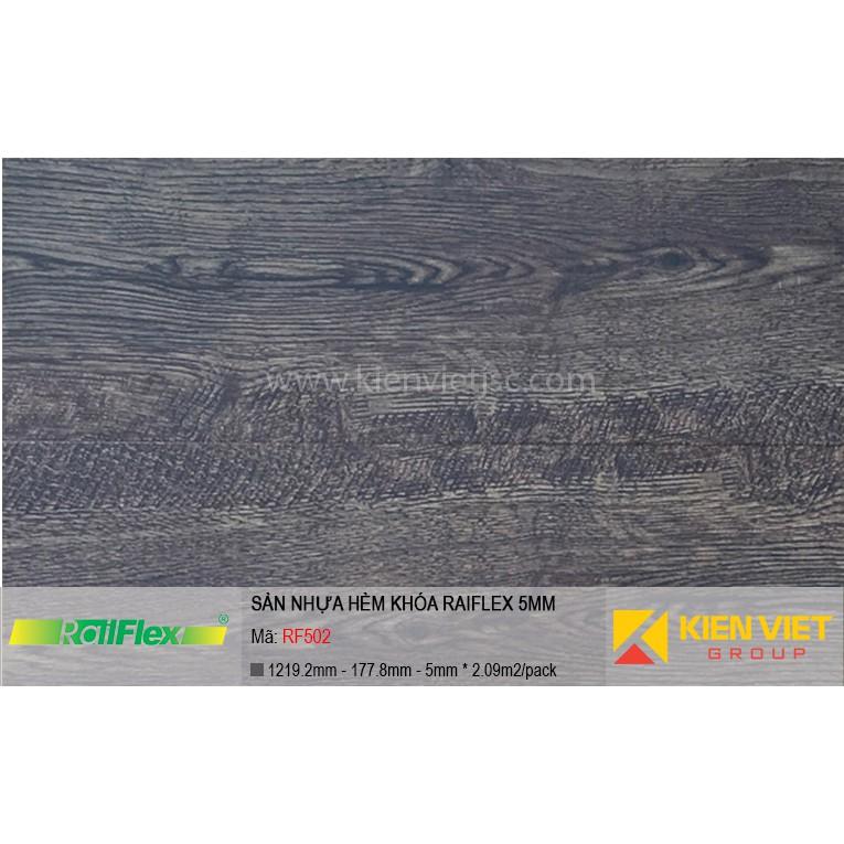 Sàn nhựa hèm khóa Raiflex RF502 | 5mm