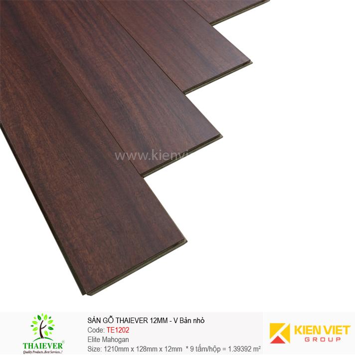 Sàn gỗ công nghiệp Thaiever TE1202 Elite Mahogan | 12mm bản nhỏ