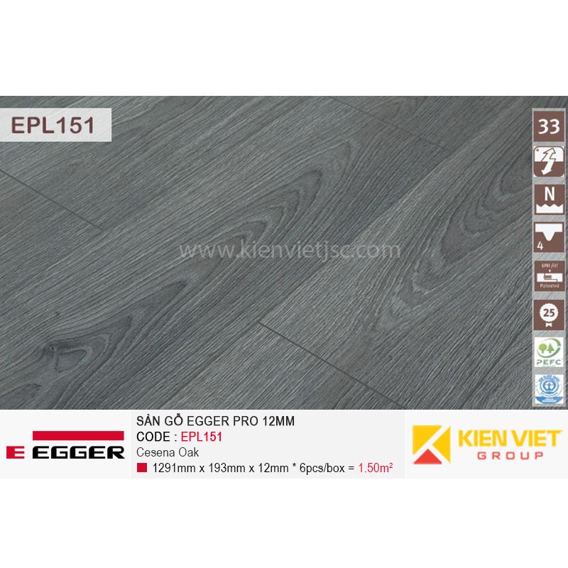 Bề mặt sàn gỗ Egger Pro EPL151