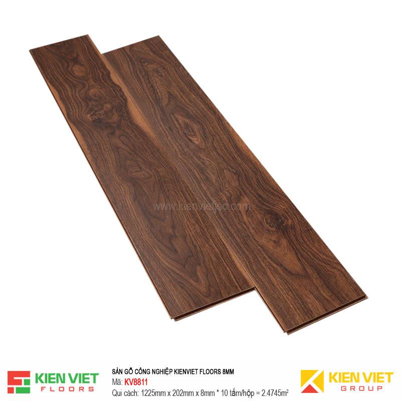 Sàn gỗ Kienviet Floor KV8811 hèm V | 8mm